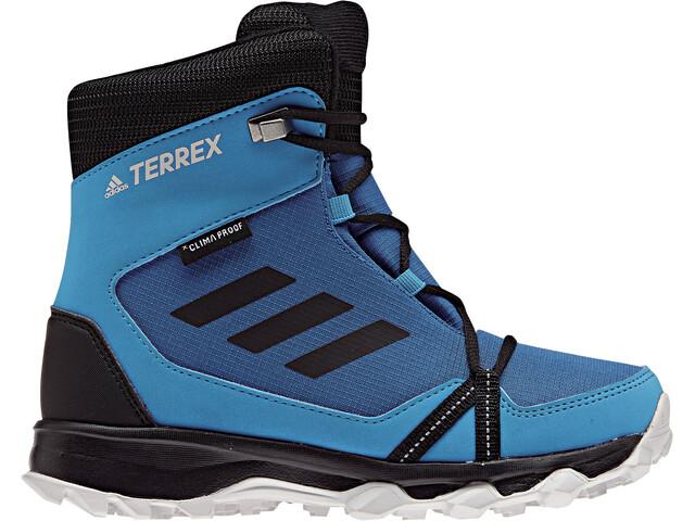 adidas TERREX SnowPitch Lapset kengät , harmaa/petrooli